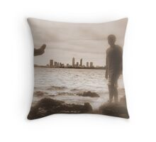 """ CITYSCAPE OF PERTH WESTERN AUSTALIA "" Throw Pillow"