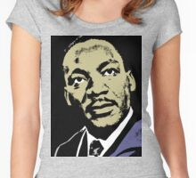MLK-4 COLOUR Women's Fitted Scoop T-Shirt