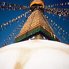 Bodhnath Stupa by Richard Heyes
