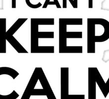 I cant keep calm Im a PAPAYA Sticker