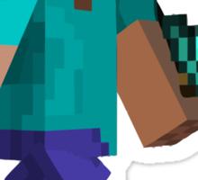 Steve - Minecraft Sticker