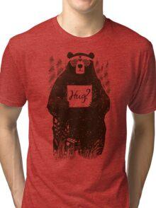 Free Bear Hugs Tri-blend T-Shirt