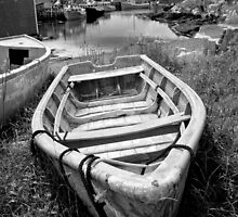 Abandoned Boat by Harv Churchill