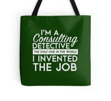 Sherlock - Consulting detective Tote Bag