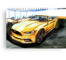 '15 Mustang Empire State Building  Canvas Print