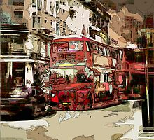 Red Bus by blacknight