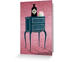 LOVE GIN Greeting Card