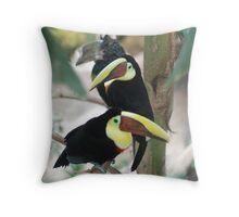 Its Toucan Time Throw Pillow