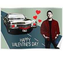 Baby Loves Dean (Text) Poster