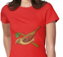domestic bird 2 Womens Fitted T-Shirt