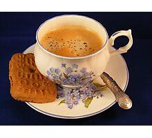 Koffie....koekje erbij?? Photographic Print