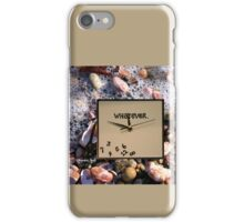 Tides Turn, Time Forever Flees Away iPhone Case/Skin