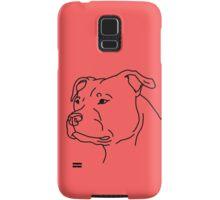 Staffie Head Samsung Galaxy Case/Skin