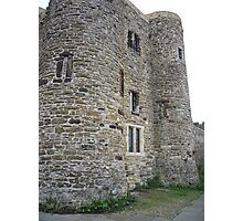 Ypres Tower, Rye, East Sussex Photographic Print
