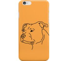 Staffie Head iPhone Case/Skin