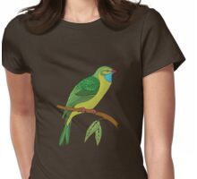 green domestic bird 2 Womens Fitted T-Shirt