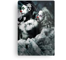 Clown Love Metal Print