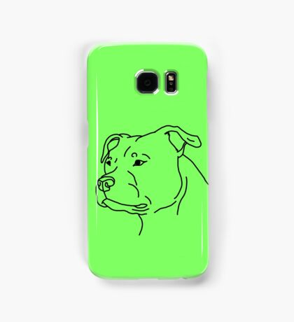 Staffie Head Samsung Galaxy Case/Skin