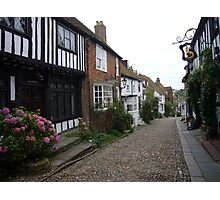 Mermaid Street, Rye, East Sussex Photographic Print