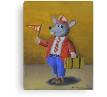 College Rat Canvas Print