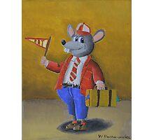 College Rat Photographic Print