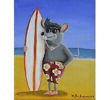 Surf Rat Photographic Print