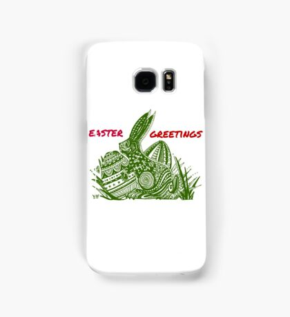 Easter Bunny Easter Greetings Samsung Galaxy Case/Skin
