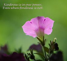 Kindness by Lisa Jones Caldwell