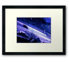 Galway Snow Framed Print