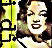 marylyn monroe, pop i die. by brandonachee
