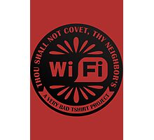 Your Neighbor's Wifi Photographic Print