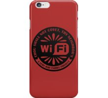 Your Neighbor's Wifi iPhone Case/Skin