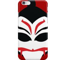 Kabuki Man Mask iPhone Case/Skin