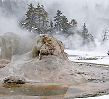 Grotto Geyser by Gary Lengyel