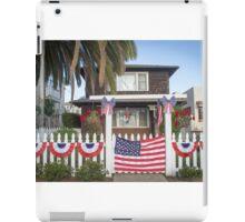 Fourth of July on the Island iPad Case/Skin