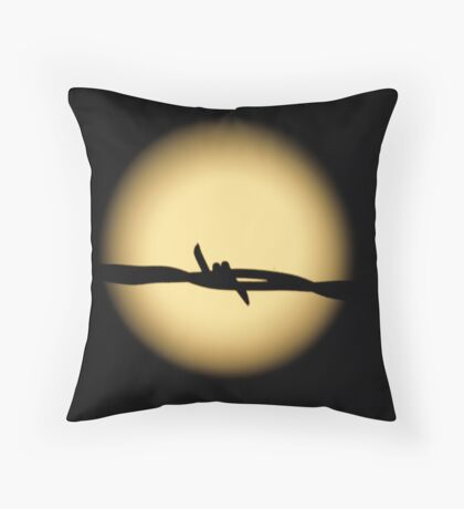 Fettered Moon Throw Pillow