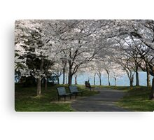 Relaxing Beauty Canvas Print