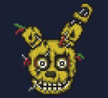 Five Nights at Freddy's 3 - Pixel art - SpringTrap Kids Tee