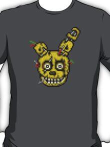 Five Nights at Freddy's 3 - Pixel art - SpringTrap / Golden Bonnie / Rotten Bonnie T-Shirt