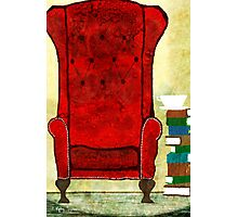 Stories from the big chair Photographic Print