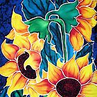 Sassy Sunflowers by Francine Dufour Jones