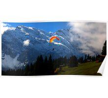 Paraglider 6 - Murren Poster