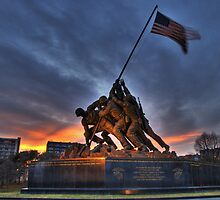 US Marine Corps Memorial by sfield
