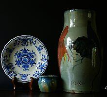 Porcelain - Pottery by Gilberte