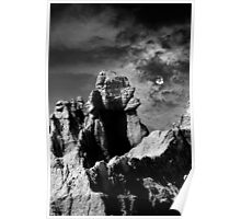 Sunset over Badlands National Park .3 Poster