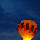 Late night Balloon Ride by Jason  Burris
