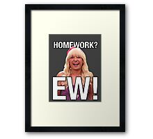 Jimmy Fallon EW - homework  Framed Print