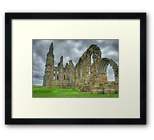 The Abby at Whitby 5 Framed Print