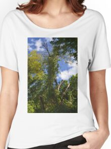 Green Trees and Blue Sky Women's Relaxed Fit T-Shirt