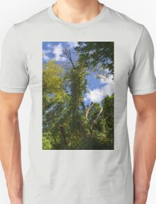 Green Trees and Blue Sky Unisex T-Shirt